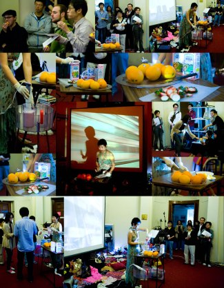 ORANGES & MILKSHAKES - photo montage from erformance