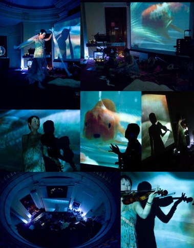 FINALE - FISH DREAMING - photo montage from performance