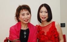 Backstage smiles - Ms. POON Sow Keng & Dawn-joy
